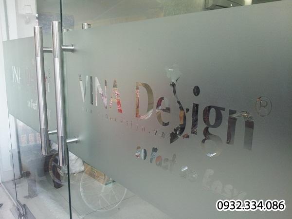 Decal dán kiếng mờ | giấy dán kiếng mờ | Decal cát mờ | Decal dán kiếng