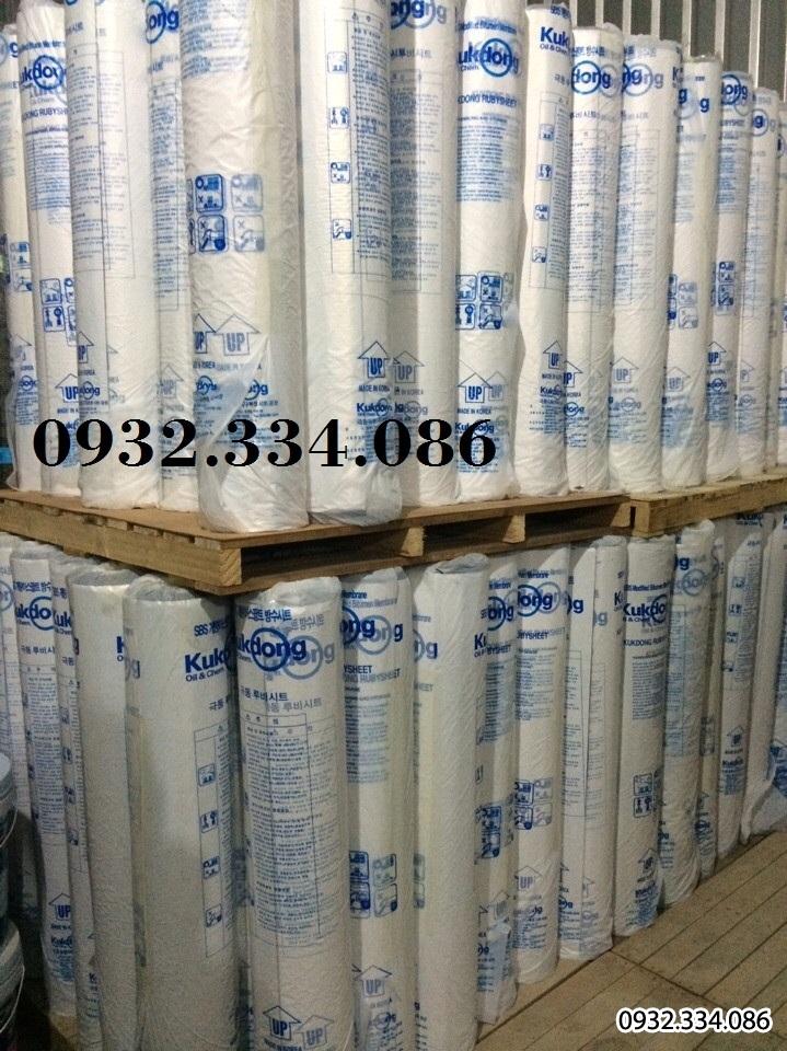 màng giấy dầu chống thấm chống dột hàn quốc