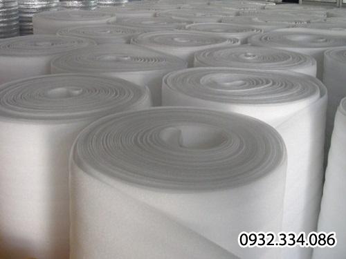 Bảng giá mút PE-OPP Foam trắng trơn cách âm cách nhiệt, mút xốp bộc hàng,