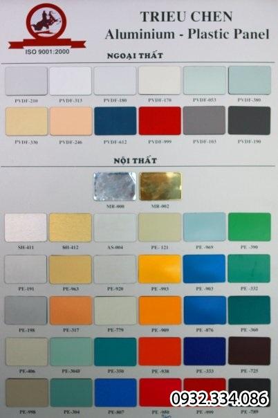 tấm alu | tấm nhựa màu alu | tấm nhựa màu hộp kim nhôm | tấm alu trong nhà | tấm alu ngoài trời