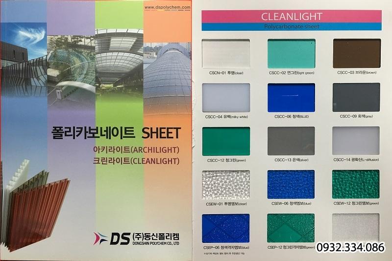 poly đặc Hàn Quốc Cleanlight