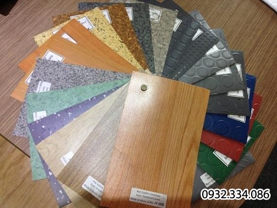 thảm pvc-simili trải sàn chống cháy